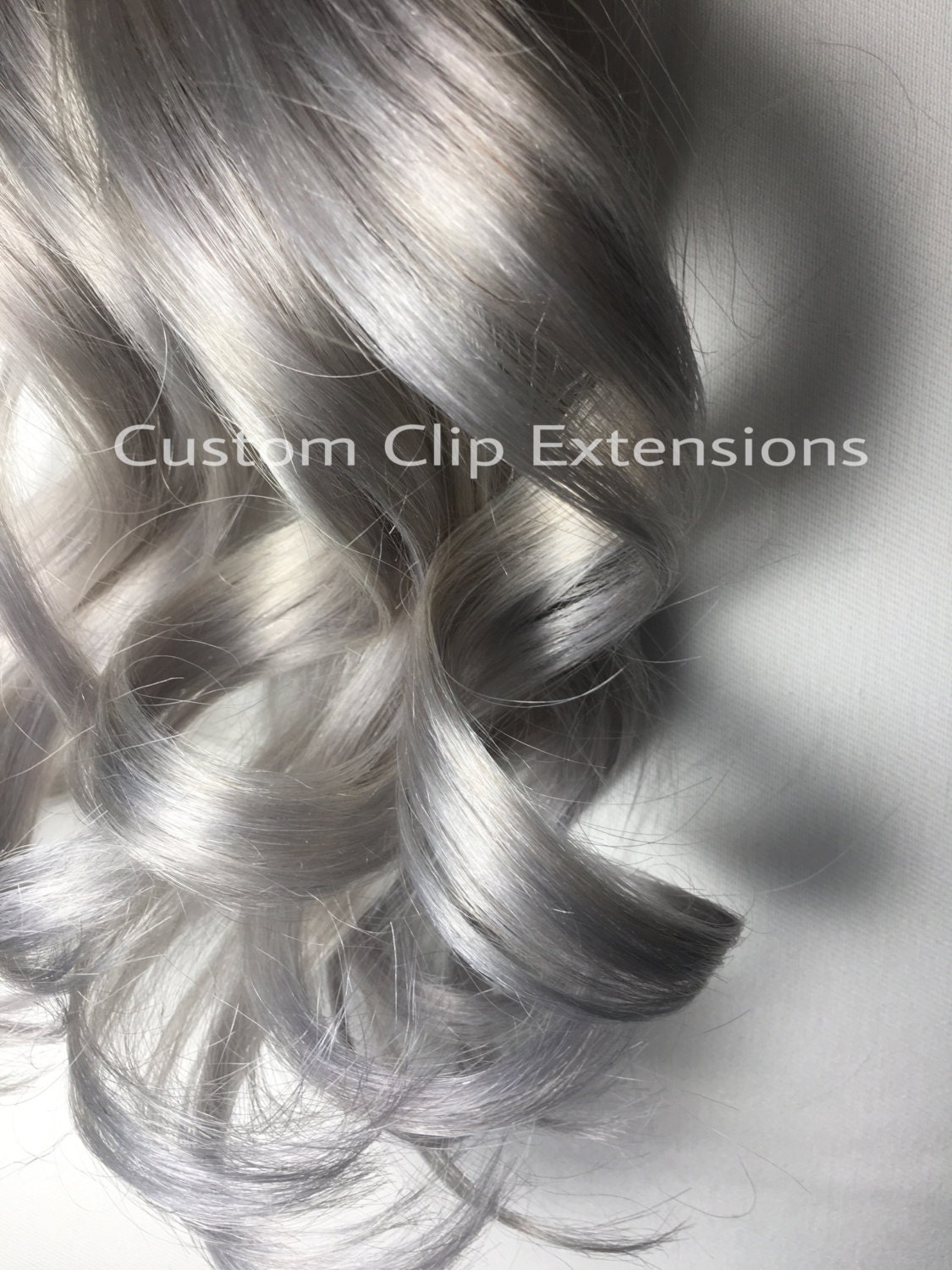 Silver Tape In Hair Extensions Light Silver Tape In Hair