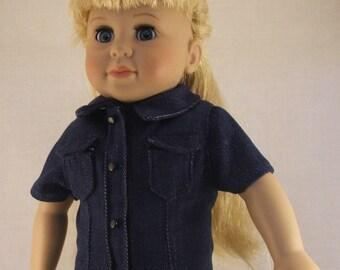 Jean Dress fits American Girl doll