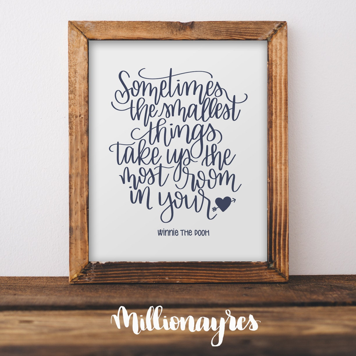 Winnie The Pooh Quotes Sometimes The Smallest Things: Winnie The Pooh Printable Quote Sometimes The Smallest Things