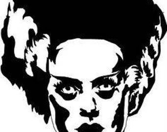 Bride of Frankenstein Decal