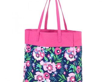 Posie Tote Bag, Beach Bag, Free Monogram