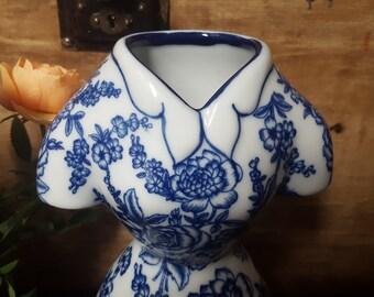 Lovely Floral Dress Vase