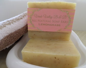 Lemongrass Soap, Lemongrass Bar Soap, Lemongrass Soap Bar, Lemongrass Bath Soap, Citrus Soap, Handmade Soap, Natural Soap, Vegan Soap