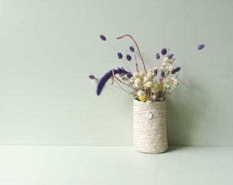 petit panier rond décoratif à poser ou suspendre