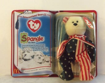 Ty Teenie Beanie , Spangle The Bear