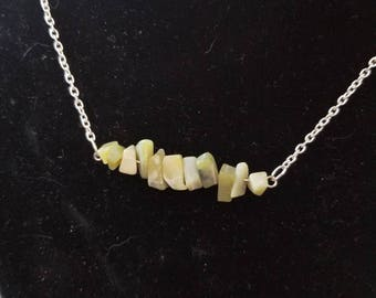Jade Bar Necklace