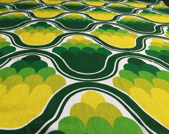 Vintage 70s: 50CMX 1.20 m Green drops