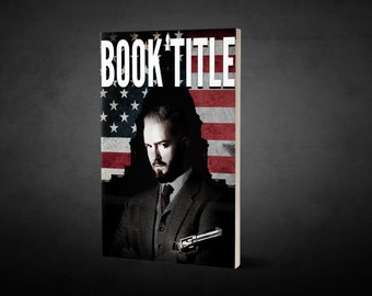 "Premade Ebook Cover ""Capitol"" Fiction Literary Political Crime Thriller Suspense"