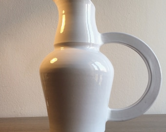 Wine Pitcher,Pitcher, Water Pitcher, Ceramic Pitcher, Ceramic Wine Pitcher, Stoneware Pitcher, Handmade Pitcher, Gift Idea