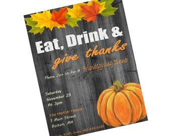 Friendsgiving Invites