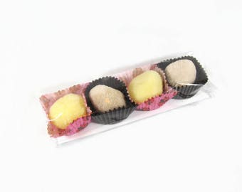 Truffes de bain Hydratantes fruitées-bombe de bain-Idée Cadeau St-Valentin