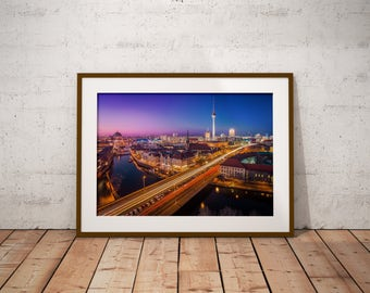 Berlin Cityscape, Germany - Physical fine art photography print