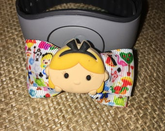 Alice In Wonderland Tsum Tsum Magic Band Bow