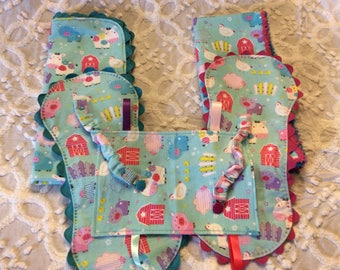 Infant Baby Girl Flannel Set Shower Gifts