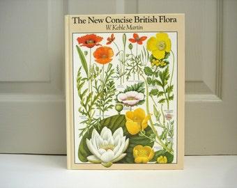Illustrated Reference Book  Vintage Book of British Flora