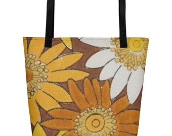 Sunflower Beach Bag