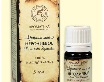 Neroli essential oil antiseptic, antibacterial, deodorant,  sedative, antidepressant, tonic, promotes the growth and renewal of skin cells