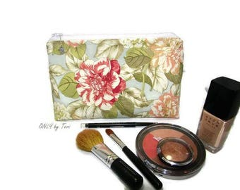 Floral Cosmetic/Makeup/Travel/Personal/Utility Bag