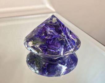 Larkspur Filled Diamond Crystal