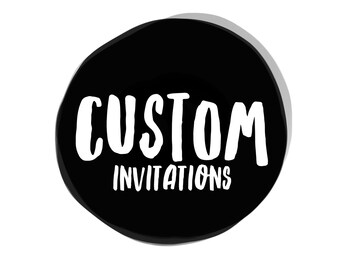 Custom Digital Invitation