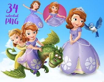 Princesa Sofia Clipart Clipart Disney Clipart princesa imágenes prediseñadas
