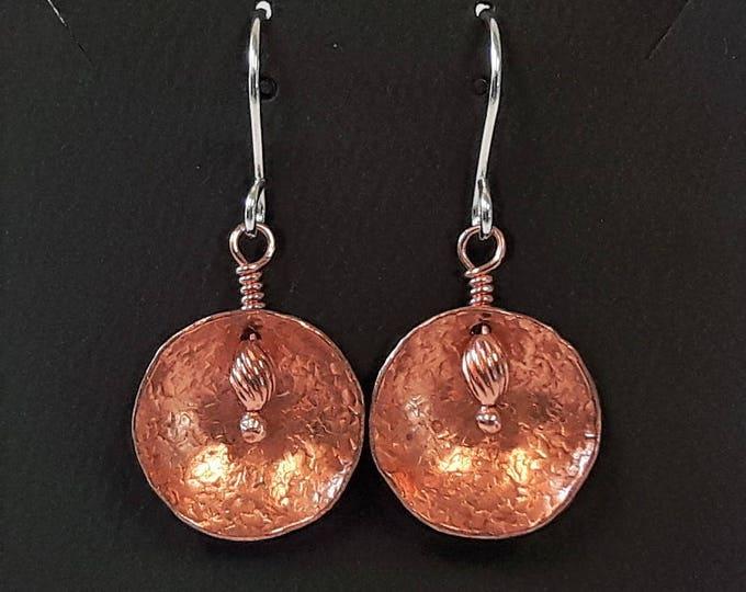 Shield Earrings (Reverse Embellished)