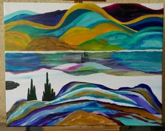A colorful Rio Grande
