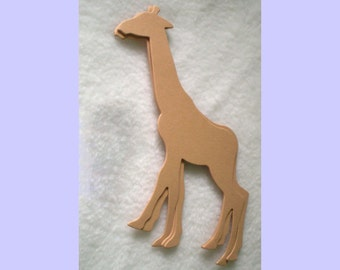 8 Large Die Cut Giraffes