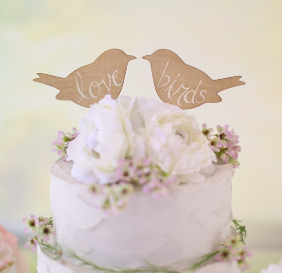 wedding cake toppers love birds rustic wedding cake topper birds we do vintage chic decor 26528