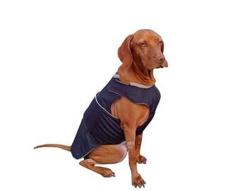 Dog Winter Coat - Warm Dog Jacket - Custom Dog Raincoat - Waterproof / Fleece coat - MADE TO ORDER