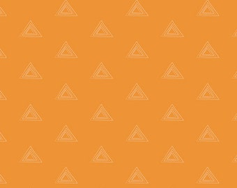 Apricot Sunstone Triangles From Art Gallery's Prisma Elements - Choose Your Cut