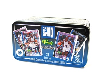 Shaquille O'Neal Metal Edge Collector Set in Tin