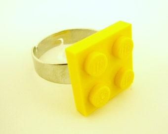 Toy Brick Ring, adjustable