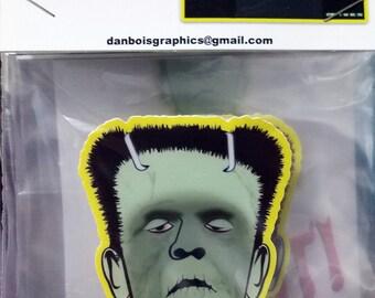 Frankenstein's Monster Vinyl Sticker