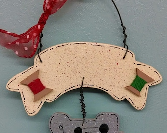 Sewing Christmas Ornament