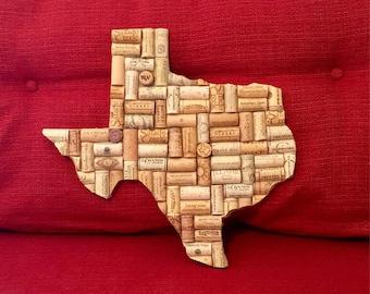 Rustic Cork Texas Decor