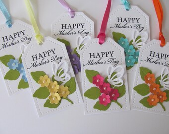 Happy Mother's Day Gift Tags, Mother's Day Tags, Mother's Day Gift Tags, Mother's Day Flowers, Flower GIft Tags, Mother's Day, Mom Gift Tags