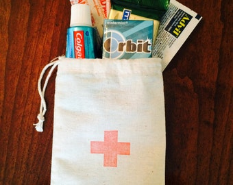 First Aid/Emergency/Recovery Red Cross Wedding Welcome Kit Bags