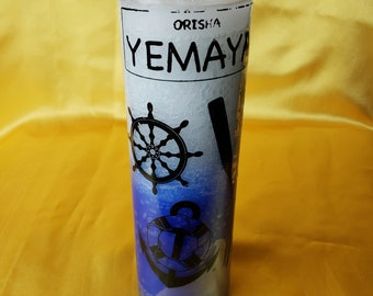 7 day Yemaya candle