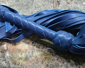 Erotic Blue Flogger