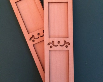 Pair of Dollhouse Shutters