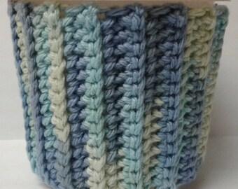 Blue Variegated Ice Cream Sweater Cozy