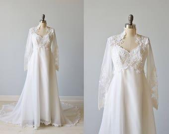 Lace Evening Dresses 1970s