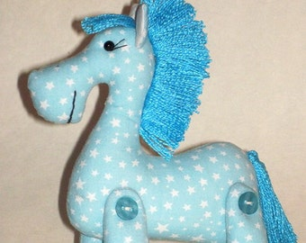 horse sewing pattern, horse Pattern, horse soft toy pattern, Doll sewing pattern, sewing patterns