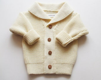 Babies/Children's/Toddlers Merino wool Shawl collar Cardigan/sweater/coat cardigan