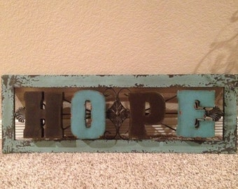 Inspirational WORD Signs