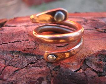 Copper ring adjustable