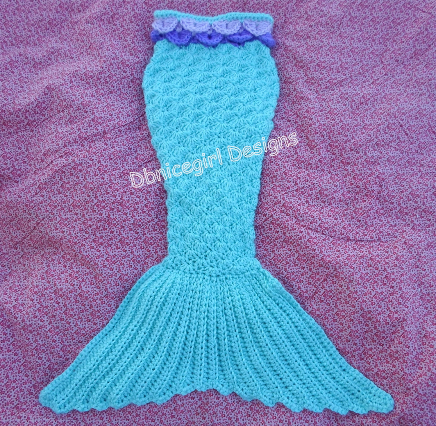 Mermaid Tail Crochet Pattern Newborn through Adult Sizes from ...