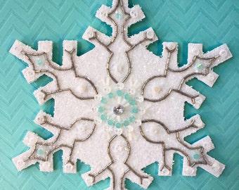 Mosaic Snowflake - Large