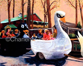 Mother Goose Ride Enchanted Forest